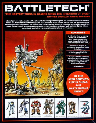 FASA's Battletech