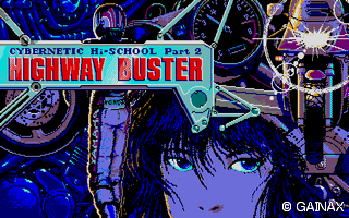 Highway Buster title screen