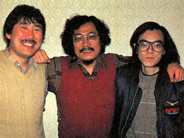 L-R: Takahashi, Ishiguro, Yamada