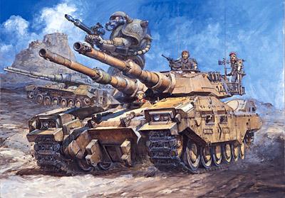 "M61A5 Main Battle Tank ""Semovente"" Phantom Element"