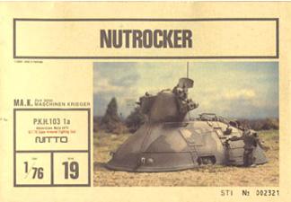 Nitto's 1/76 scale Nutrocker kit