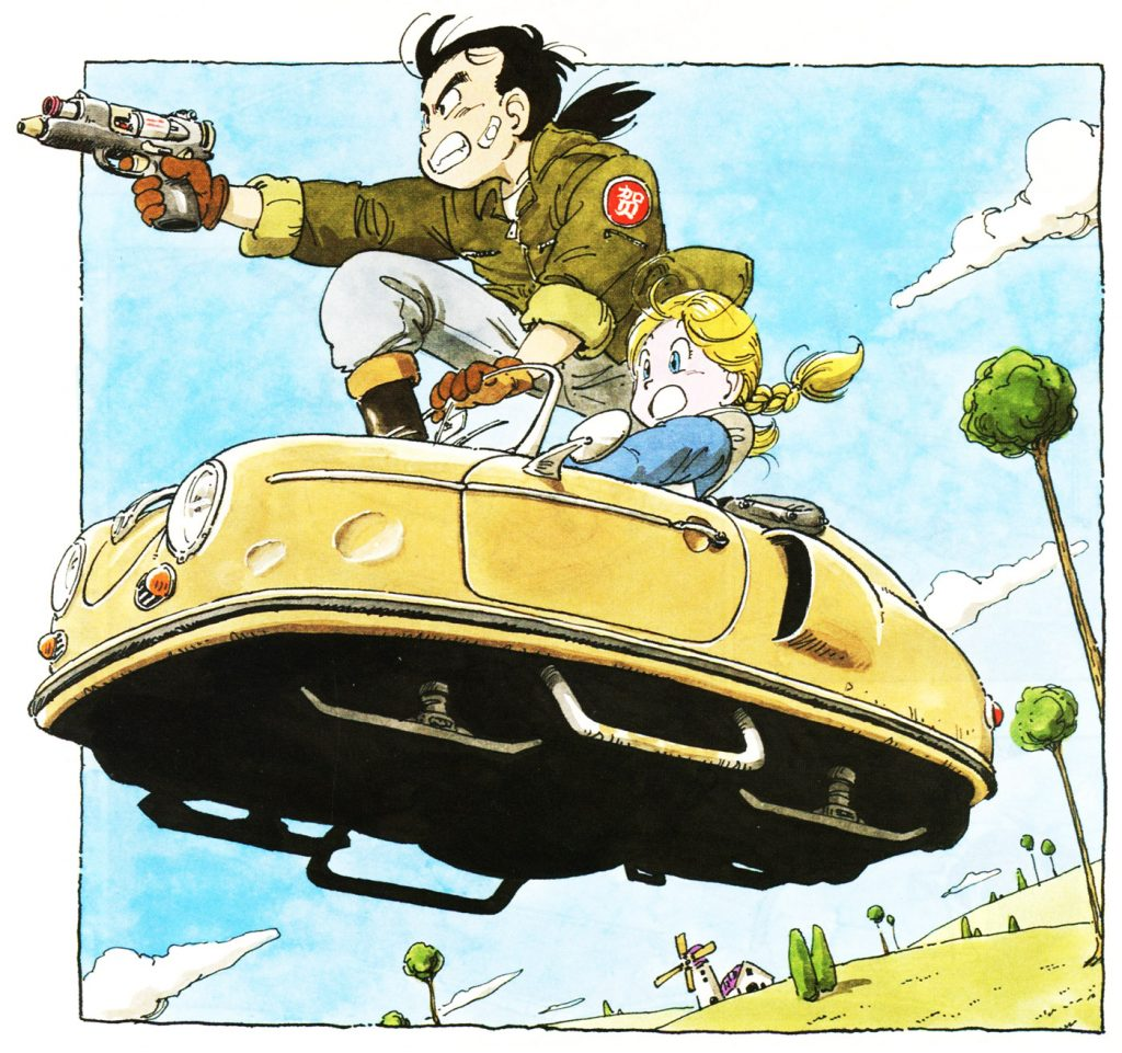 The Unappreciated Mechanical Design Of Akira Toriyama